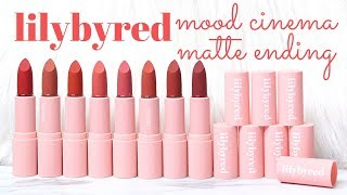 BIYW Review Chapter: #153 LILYBYRED MOOD CINEMA MATTE ENDING SWATCH & REVIEW