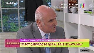 """José Luis Espert en """"Las rubias + uno"""" de Marcela Tinayre por NET TV, el 19 de marzo de 2019"""