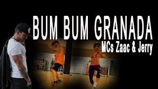 MCs Zaac & Jerry - Bum Bum Granada. Zumba Choreo. Brasilian Funk
