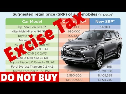 Watch before buying: Philippines Excise Tax on Automobiles