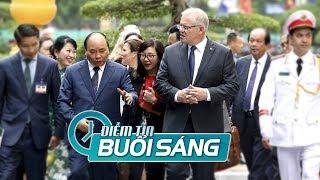 Thủ Tướng Úc và VN họp báo nêu tình hình Biển Đông, không chỉ đích danh TQ