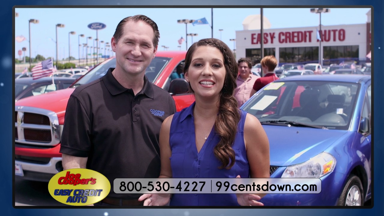 Joe Cooper Easy Credit >> A Job 99 Cents Down Easy Credit Auto Bad Credit Car Loans Joe Cooper Midwest City 73110