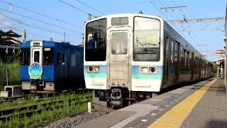 【FHD】HIGH RAIL 1375 小海線観光列車 キハ110形(改造)車両入換 車内放送 小淵沢駅 野辺山駅