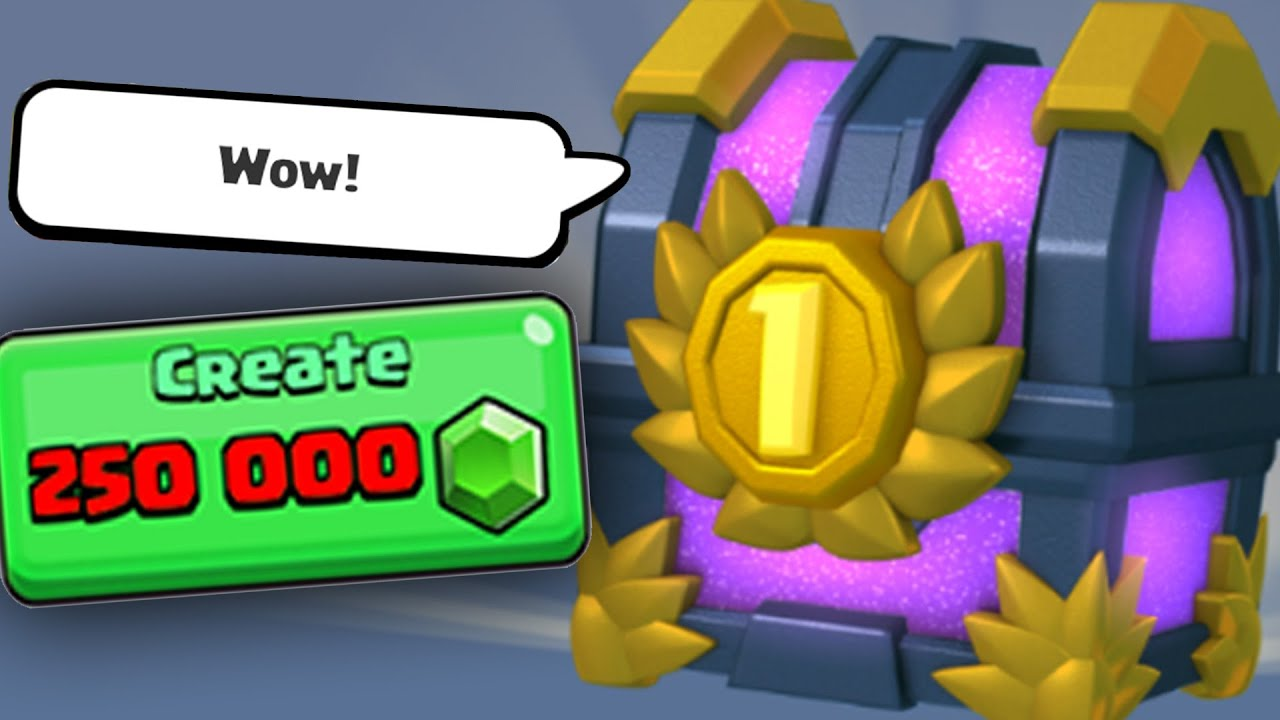 Clash Royale Preview: THE BIGGEST TOURNAMENT CHEST IS... INSANE ...