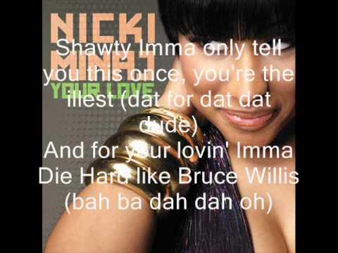 Nicki Minaj Your Love Love lyrics clean