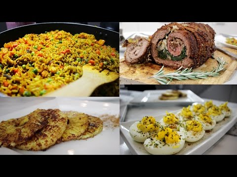 Cooking With Ral - EASTER DINNER IDEAS (Suya Encrusted Stuffed Beef Flank) - #RalCooks