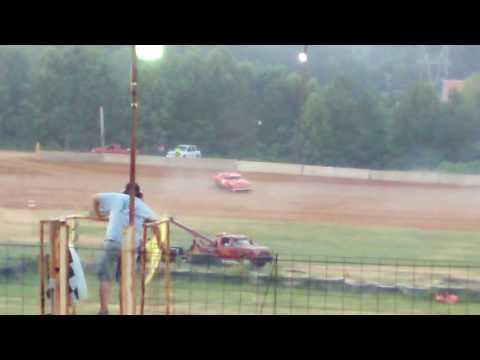 Adam Brockwell Camden speedway pure streek dirt track wreck