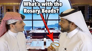 #QTip: Why do Arab men carry a rope of beads?