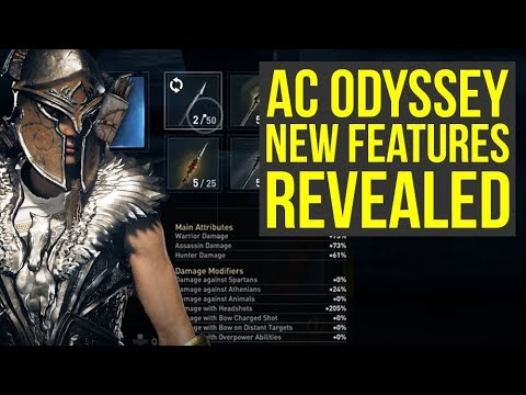 Assassin's Creed Odyssey DLC - NEW FEATURES Revealed To Make Game Even Better (AC Odyssey DLC)