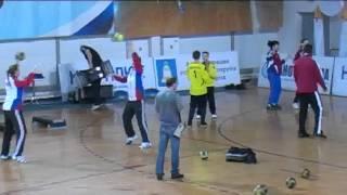 Упражнения для гандбольных вратарей