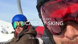 Typical day skiing - When miller took the piss!!