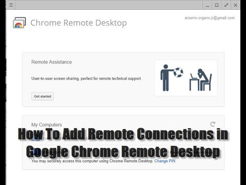 How To Add Remote Connections in Google Chrome Remote Desktop
