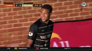 Men's Soccer - Wake Forest vs Clemson 10-30-2020