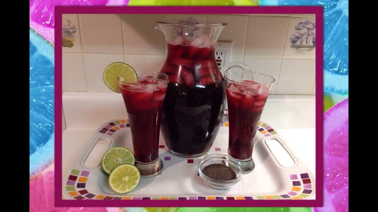 Recipe how to make hibiscus tea agua de jamaica youtube izmirmasajfo Choice Image