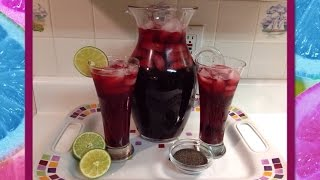 Recipe: How To Make Hibiscus Tea (Agua De Jamaica)!