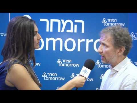 Interview with David Horovitz, Editor of The Times of Israel - Israeli Presidential Conference 2012