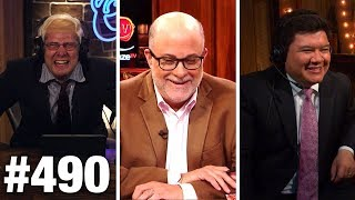 #490 BERNIE SANDERS HOSTS 'LOUDER WITH CROWDER'!   Mark Levin Guests