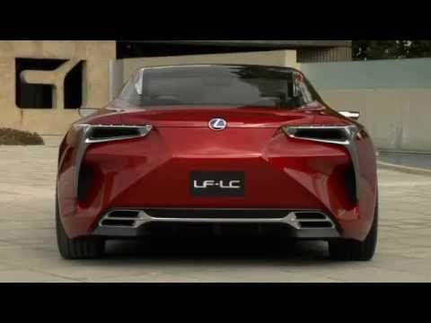 Lexus Electric Car >> Lexus Lf Lc Hybrid Electric Sportscar Concept