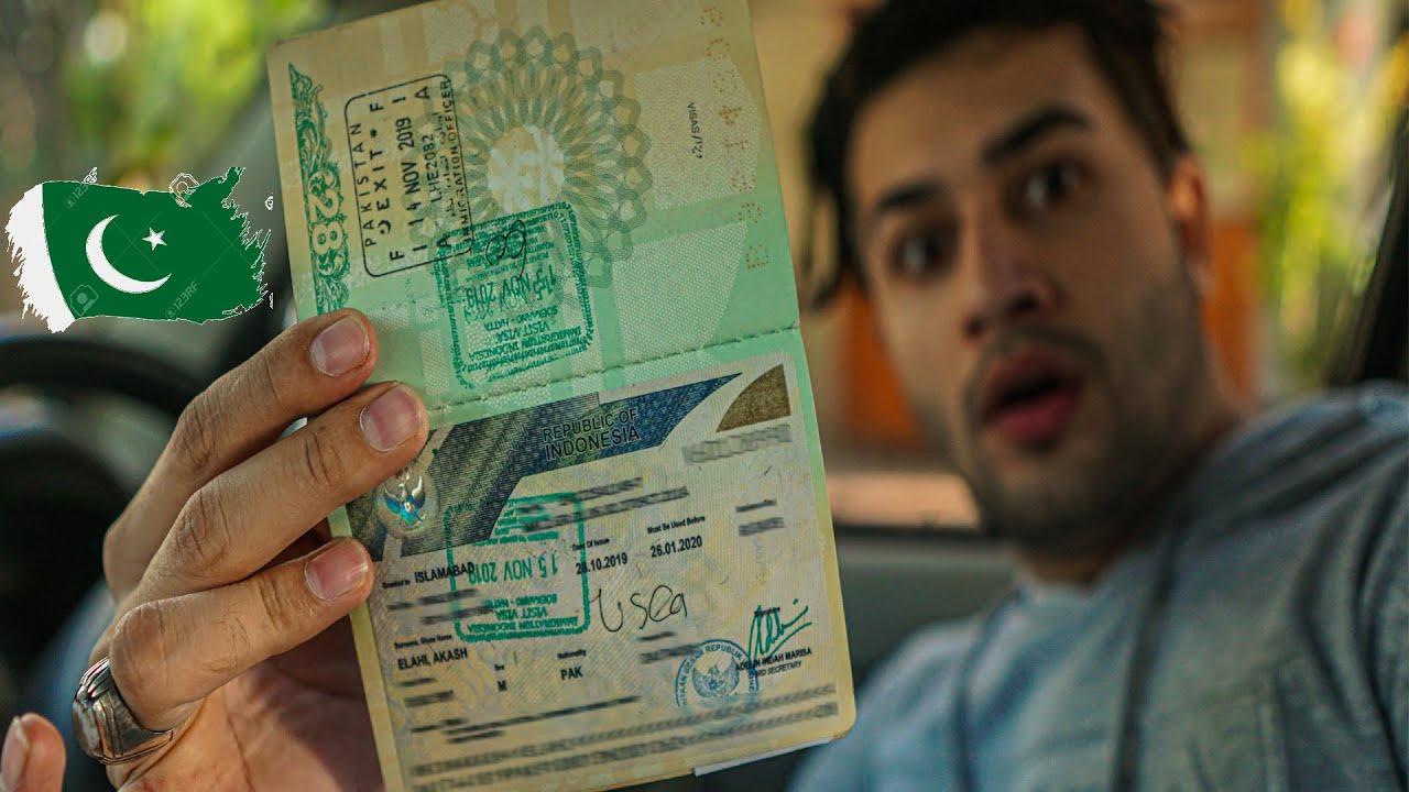 Indonesia Visa For Pakistani Passport Requirements 2020 Youtube