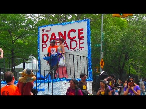 DANCE PARADE VIDEO IN TOMPKINS SQUARE PARK NYC 2015