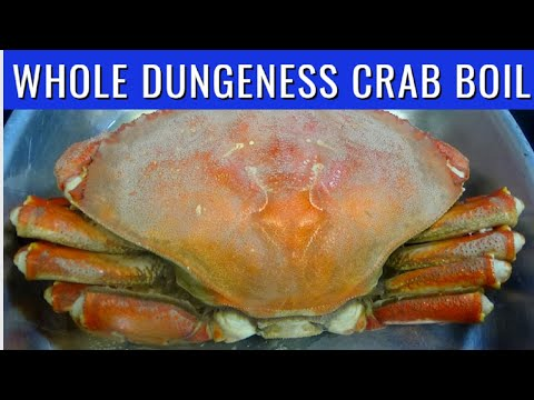 Dungeness Crab Boil   How to Boil Dungeness Crab   PinoyAtHeartAdventures