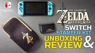 Nintendo Switch Zelda Starter Kit Unboxing & Review + GIVEAWAY
