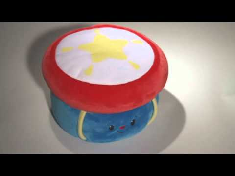 My First Drum Musical Light Up Plush Toy