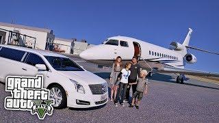 Wir KAUFEN einen PRIVATJET! 😱 - GTA 5 Real Life Mod
