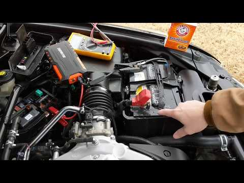 Cleaning Car Battery Terminal Corrosion