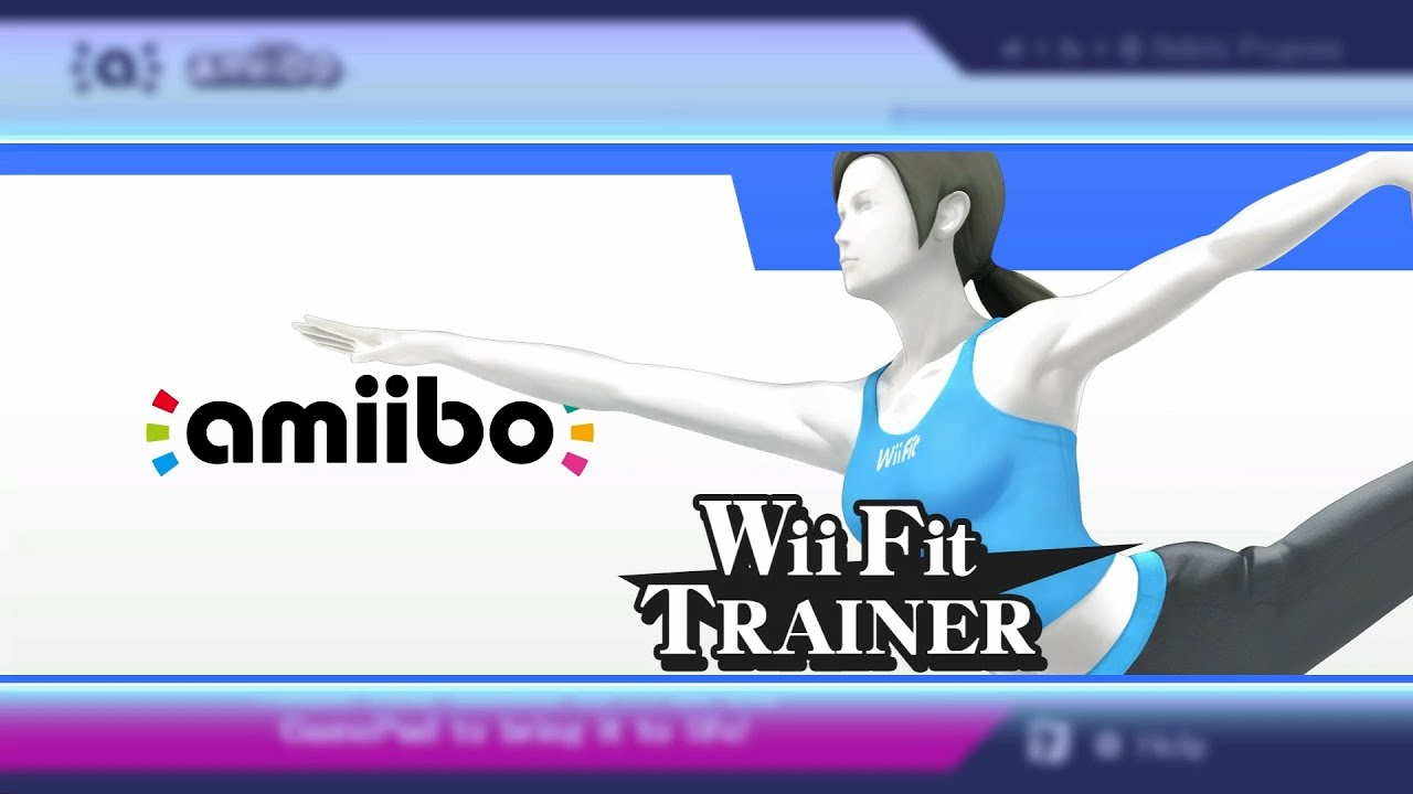 Wii Fit Trainer Amiibo - Out Of Her Box And Into The Fight ...