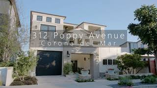 312 Poppy Avenue in Corona del Mar, California