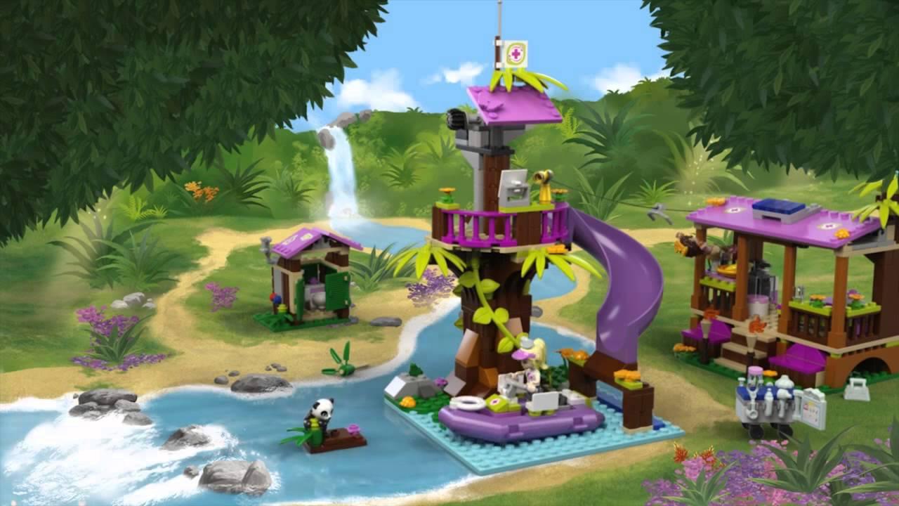 Jungle Rescue Base - LEGO Friends - Product Animation ...