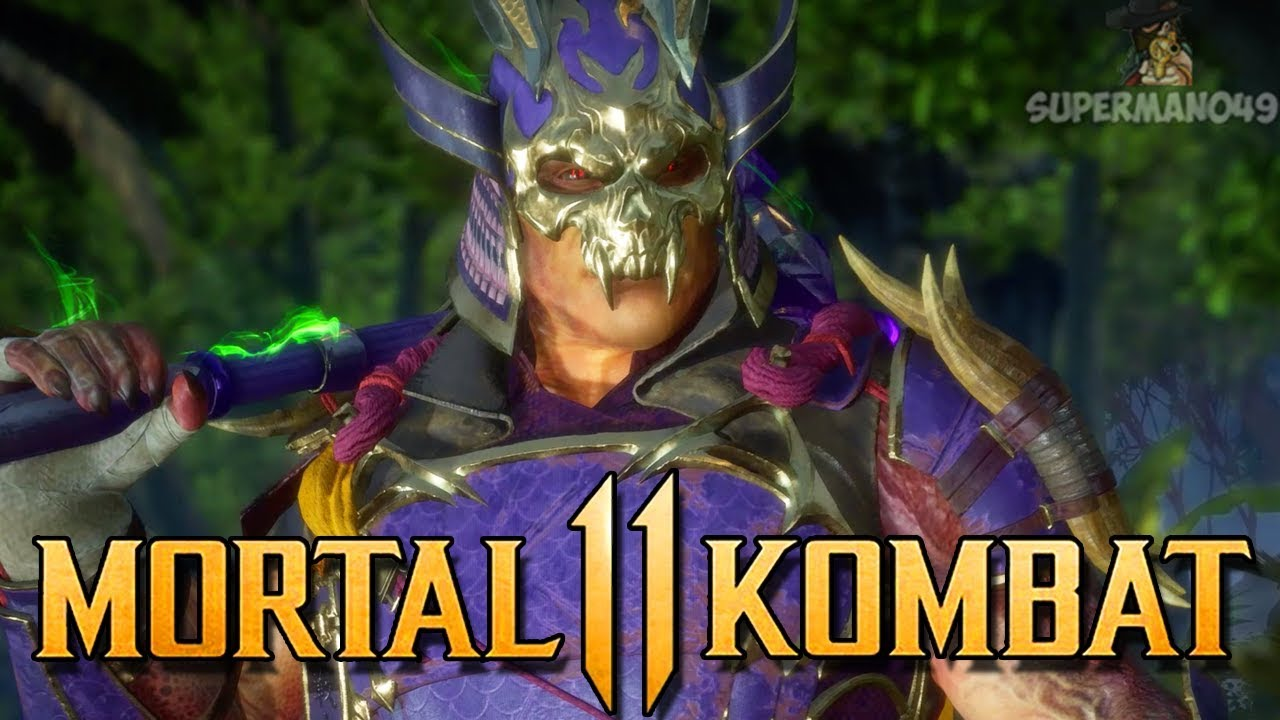 EPIC SHAO KAHN GEAR! - Mortal Kombat 11: