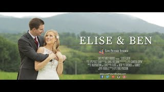Elise and Ben Wedding Highlight at Blenheim Hill Farm, NY