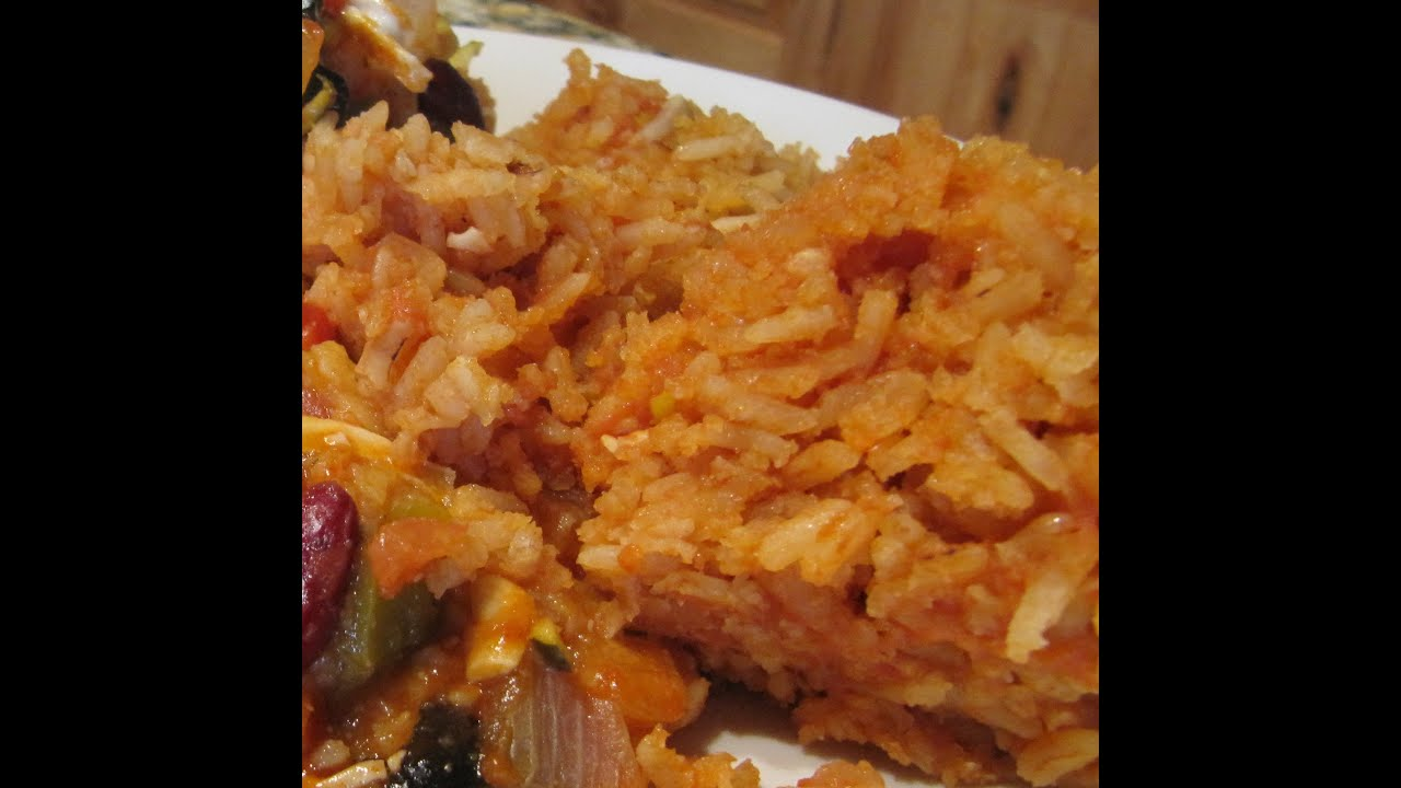 How To Make Authentic Restaurant Mexican Rice Aka Spanish Rice Recipe   Youtube