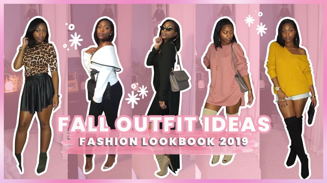 [VIDEO] - Fall Outfit Ideas | Fashion Lookbook 2019 | Alanna Foxx 9
