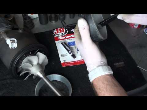 Aluminum Wear Ring For MOKAI™ Jet Boats - Resurfacing And Installation