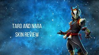 Taro and Nara Fortnite skin REVIEW
