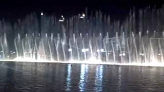 Day 6- The Burj Dubai's Fountain Show
