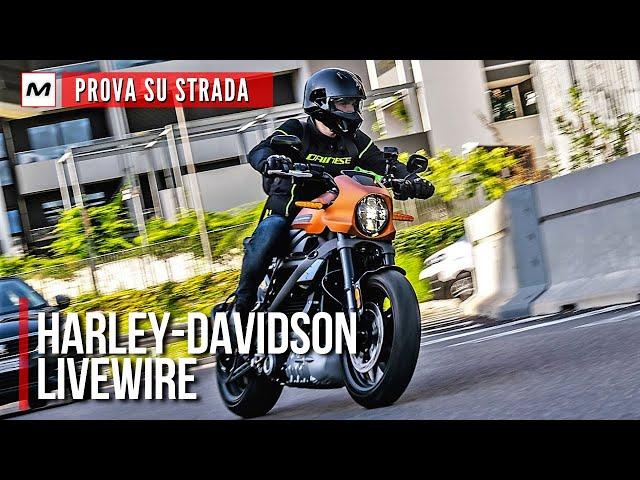 Harley-Davidson LiveWire 2020 | Rivoluzione elettrica [TEST RIDE]