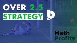Over 2.5 Goal Strategy with Betpractice Studio Pro ⚽️ November 2019 | MathProfits 💸