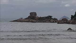 Сад камней и Северный пляж в Нячанге, Вьетнам