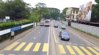 Driving through Colombo Sri Lanka - part 6