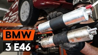 Installation Dieselfilter Benzin BMW 3 SERIES: Video-Handbuch