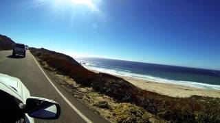 Driving across west coast (USA)