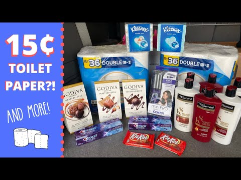 15¢ Toilet Paper?! AND MORE! Walgreens And CVS Coupon Deals
