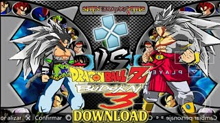 NEW DBZ AF Budokai 3 Style Shin Budokai 2 MOD For Android DOWNLOAD