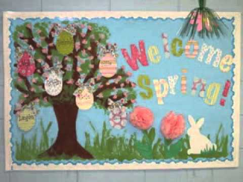 DIY Bulletin Board Decorating Ideas For Easter