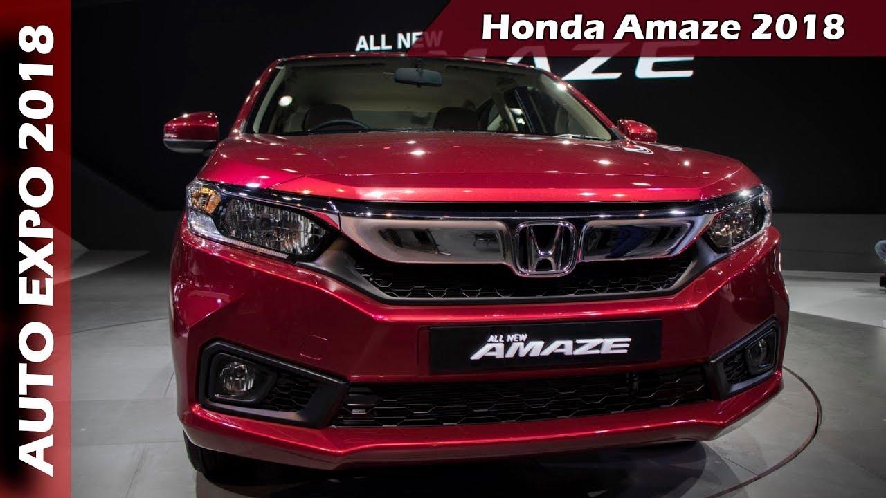 New Honda Amaze 2018 At Auto Expo