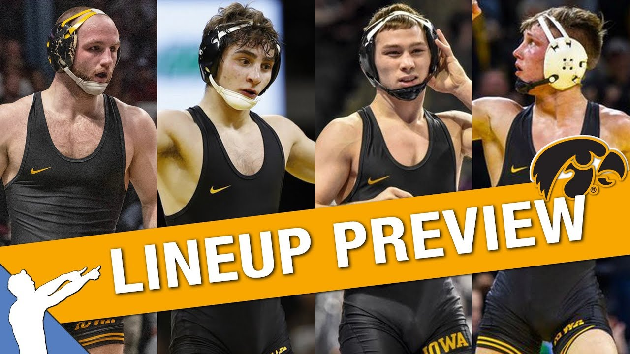 Iowa Hawkeyes Wrestling Lineup Preview 2019 2020 Youtube